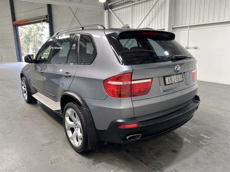 2007 BMW X5 4.8i E70 SPACE GREY 6 SP AUTOMATIC STEPT 4D WAGON F3 Motor Auctions